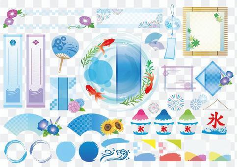 夏季日式框架材料 Ryo