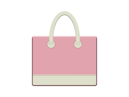 Leather bag 13-1 (pink)