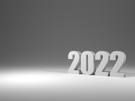 2022 (3D illustration)