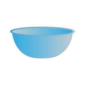碗(藍色)