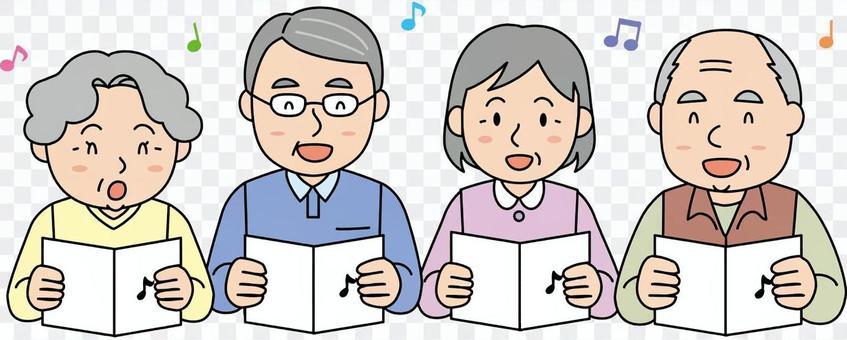 老人唱歌2