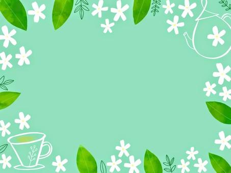 茉莉花茶架
