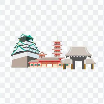 大阪旅遊目的地