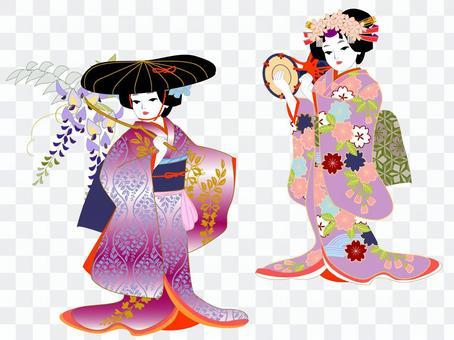 Kids Kabuki Fujio / Yoshitsune Senbonzakura