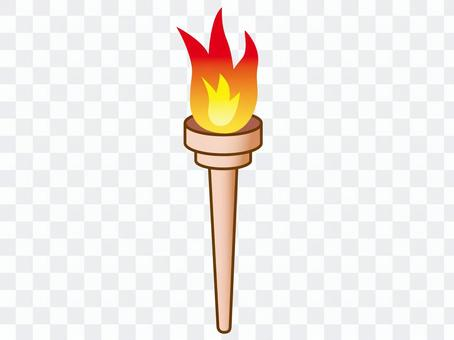 オリンピックの聖火トーチ