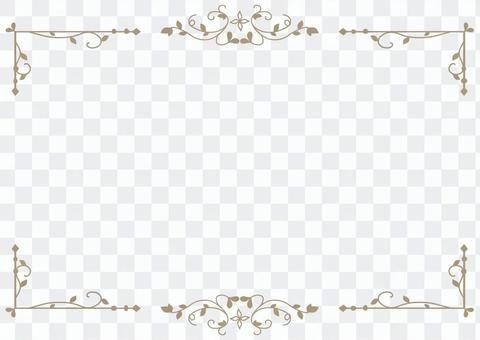 Antique frame 1