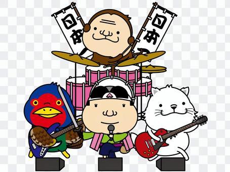 桃太郎樂隊