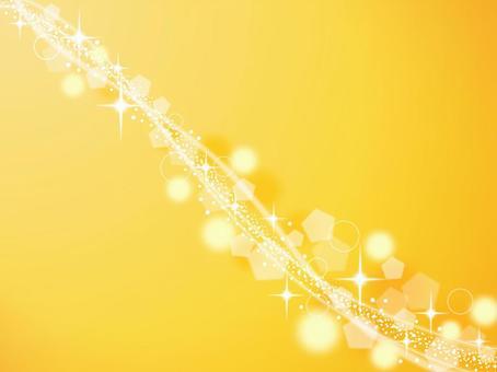黄色キラキラ背景