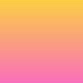 背景グラデーションピンク~黄色