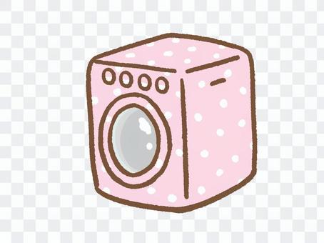 可愛的洗衣機