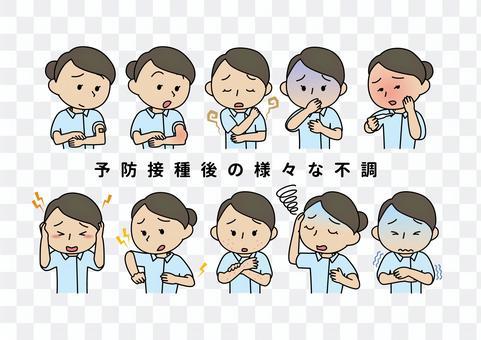 疫苗接種後的各種疾病(護士)