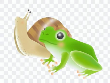 青蛙和蝸牛