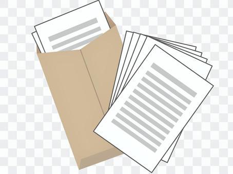 文件,信封3