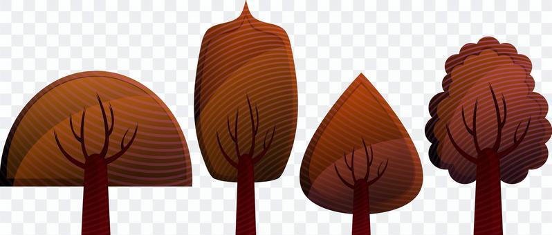 枯木 枯葉