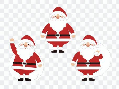 聖誕老人的插圖