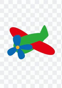 Airplane (colorful)