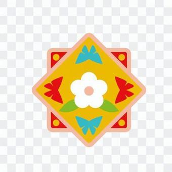 Korean style pattern 1