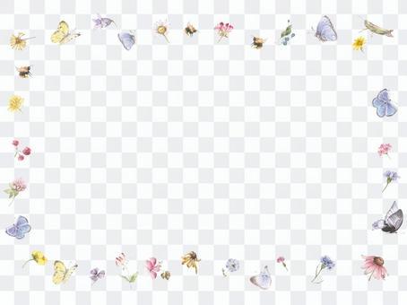 花框245  - 有感觉的可爱的装饰框架
