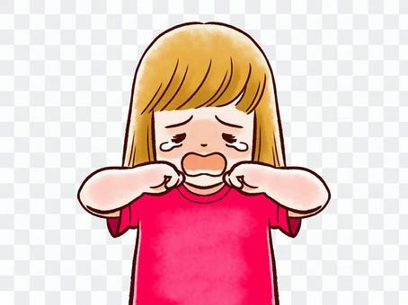 哭泣的孩子