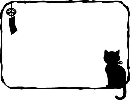 貓和風鈴框架