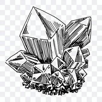 礦石的插圖