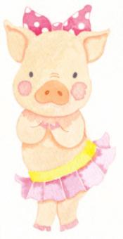 A pig 's fellow.
