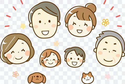 6個朋友+寵物