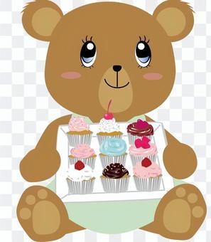 蛋糕_熊_可愛_動物4