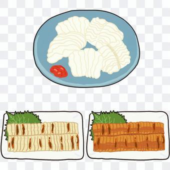 星鰻料理 Kabayaki