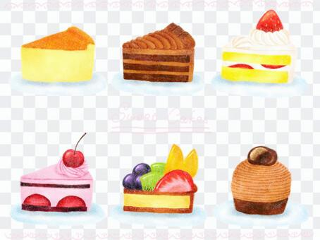 蛋糕(顏色)