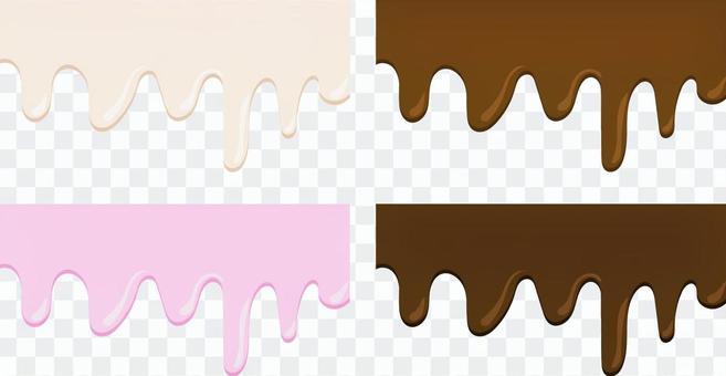 とろけるチョコレート