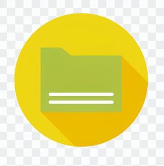 平板圖標 - 文件夾