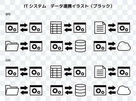 數據鏈接圖(黑色)