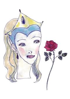 Roses and ladies