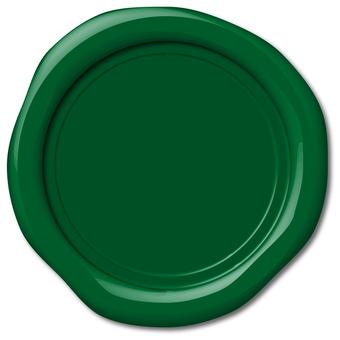 印章純綠色