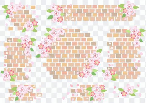 磚和櫻桃框架透明螞蟻