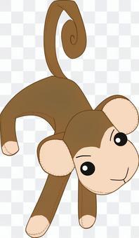 猴子的毛絨動物