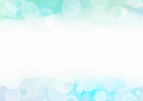 背景材料波藍×泡沫