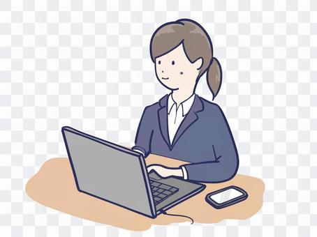 オンライン就活 女性