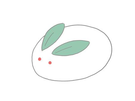 Snow rabbit ①