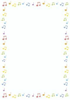 音符框架 - 垂直