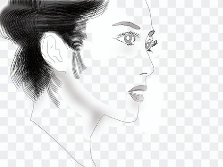 Women's profile 01