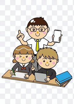 學生12_03(男女平板電腦和老師)
