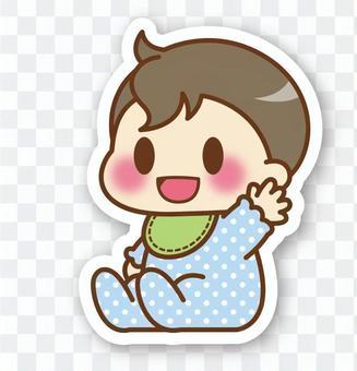 【Seal】 Baby (boy) * sitting