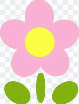 Flower illustration (pink)