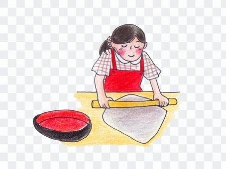 媽媽的蕎麥經驗