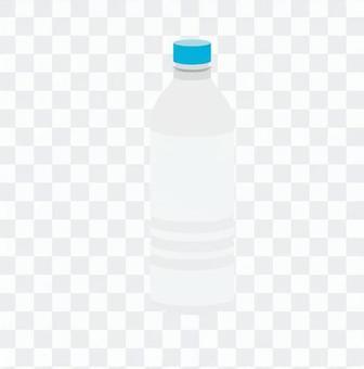 垃圾分离 - 空塑料瓶(白色)