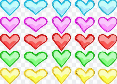 多彩的心臟25模式