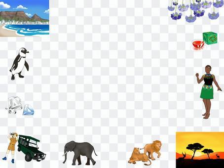 南非圖片框