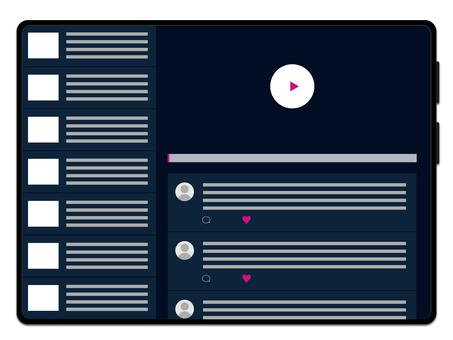 平板電腦黑色(視頻)